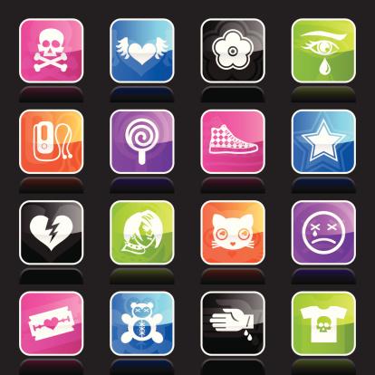 Ubergloss Icons - Emo