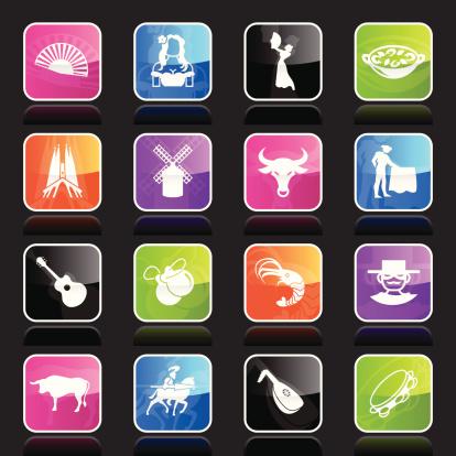 Ubergloss Icons - Spain