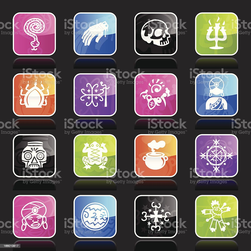 Ubergloss Icons - Voodoo royalty-free ubergloss icons voodoo stock vector art & more images of adult