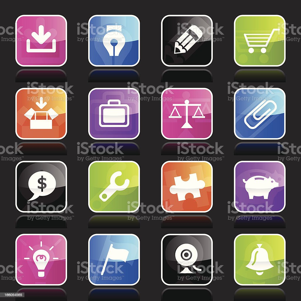 Ubergloss Icons - Web royalty-free ubergloss icons web stock vector art & more images of arrow symbol