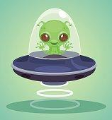 Ufo alien character
