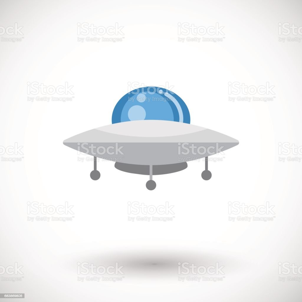 Ufo vector flat icon
