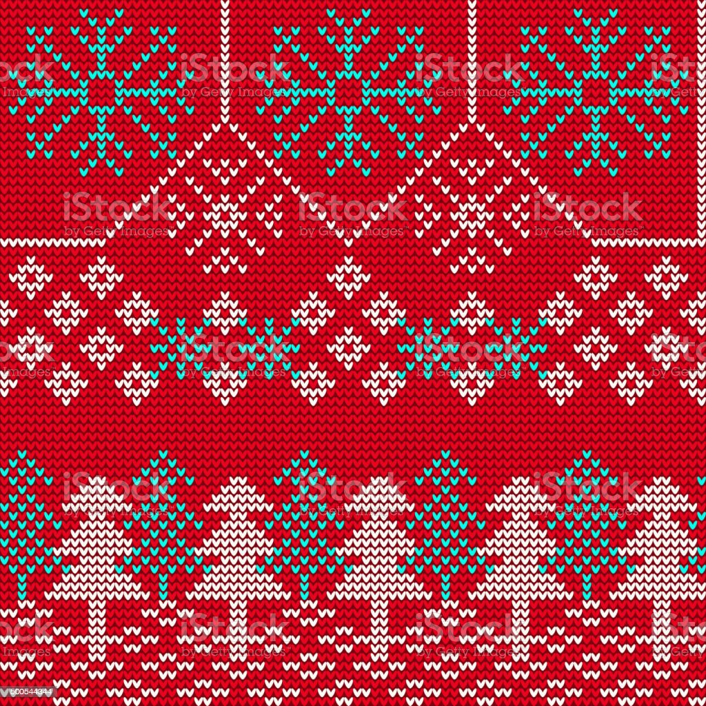 Christmas Sweater Background.Ugly Sweater Background 1 Stock Illustration Download Image Now