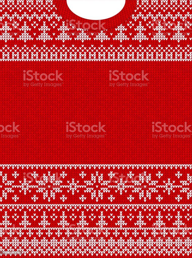 ugly sweater merry christmas happy new year greeting card frame royalty free ugly sweater