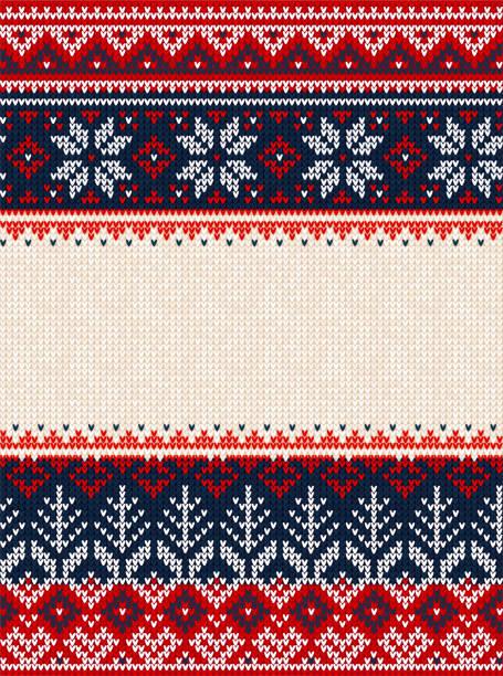stockillustraties, clipart, cartoons en iconen met lelijke trui merry christmas party ornament achtergrond naadloze patroon - trui