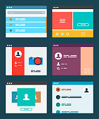 Ui app design concept