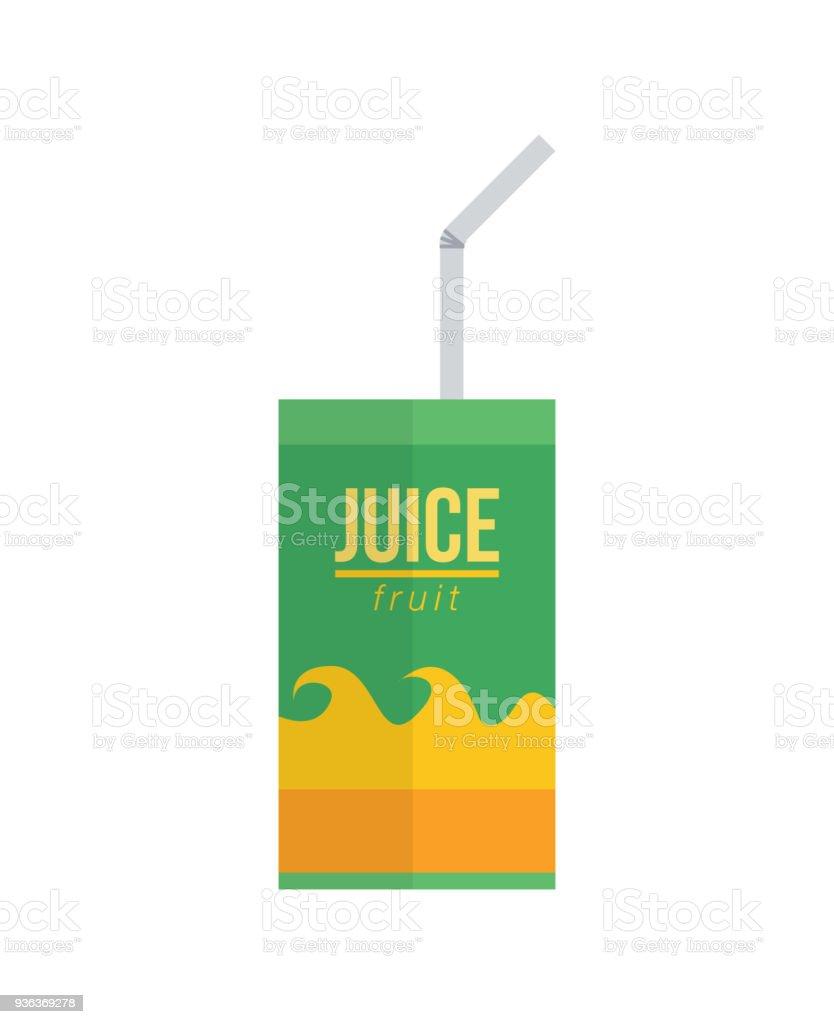 uice pack avec paille uice pack avec paille vecteurs libres de droits et plus d'images vectorielles de aliment libre de droits