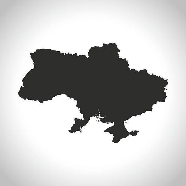 ウクライナマップ - ウクライナ点のイラスト素材/クリップアート素材/マンガ素材/アイコン素材