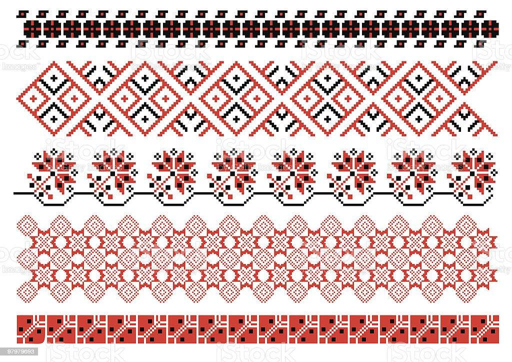 Ukrainian embroidery royalty-free ukrainian embroidery stock vector art & more images of ancient