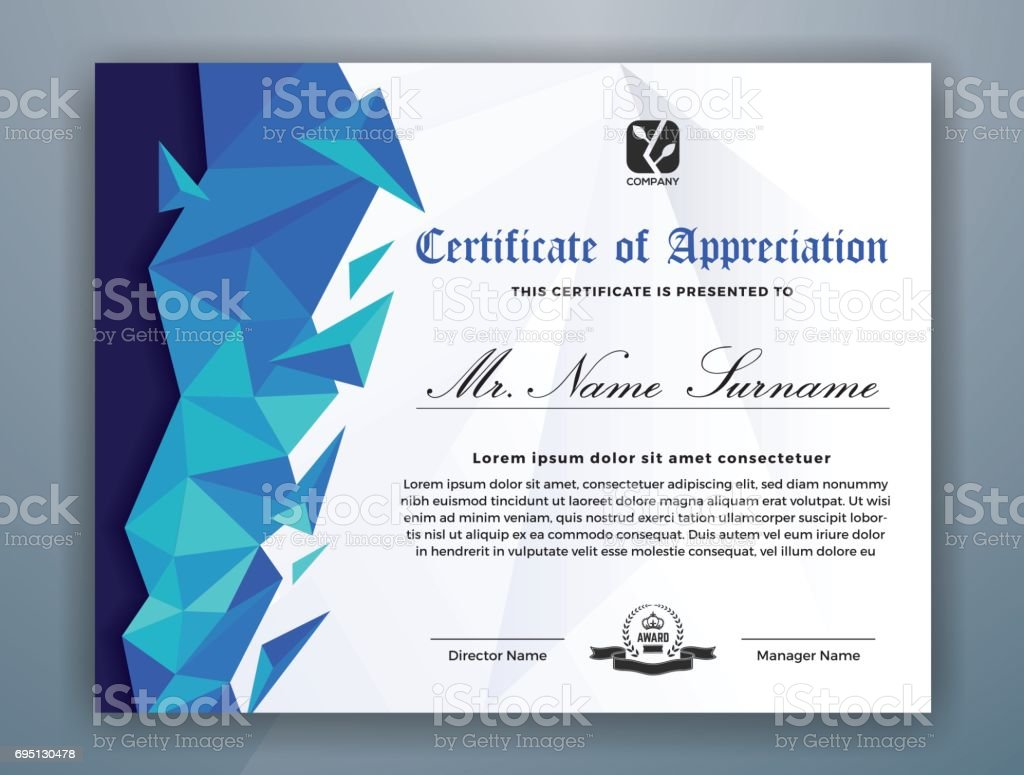 ultipurpose modern certificate template royalty free ultipurpose modern certificate template stock vector art - Modern Certificate Template