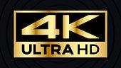 4K video resolution background default illustration.