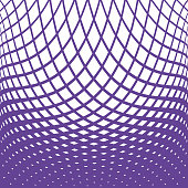 Ultra violet Halftone Pattern, Abstract Background of wavy lines