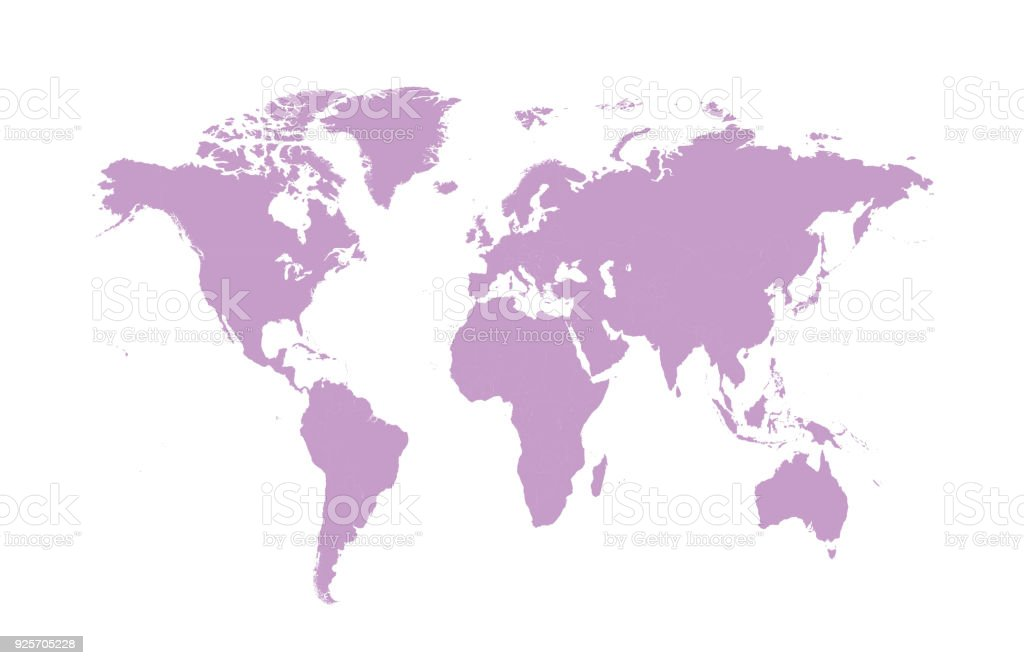 Ultra violet world map modern flat design stock vector art more ultra violet world map modern flat design royalty free ultra violet world map modern flat gumiabroncs Images