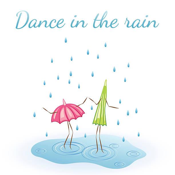 Royalty Free Dancing Rain Clip Art, Vector Images ...