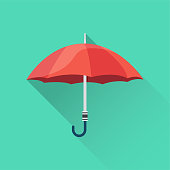 Umbrella Flat Icon