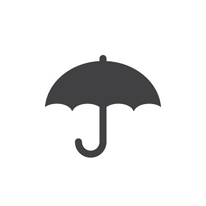 umbrella icon protection symbol