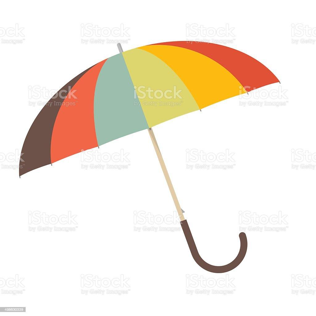Umbrella - Parasol Vector Illustration vector art illustration