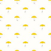Umbrella seamless background.