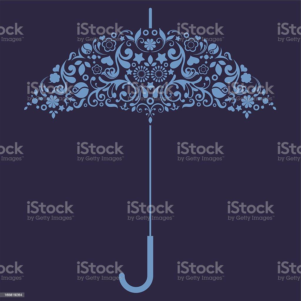 Umbrella. royalty-free stock vector art
