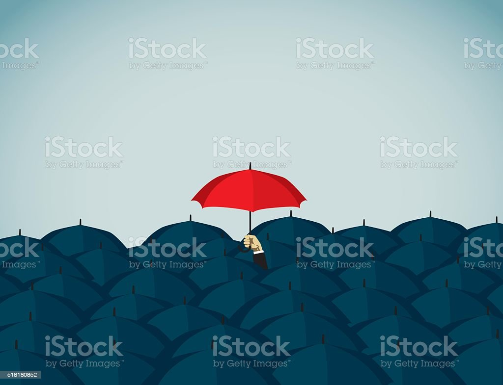 Umbrella vector art illustration
