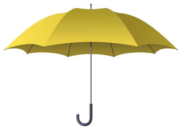 Best Yellow Umbrella Illustrations, Royalty-Free Vector ...