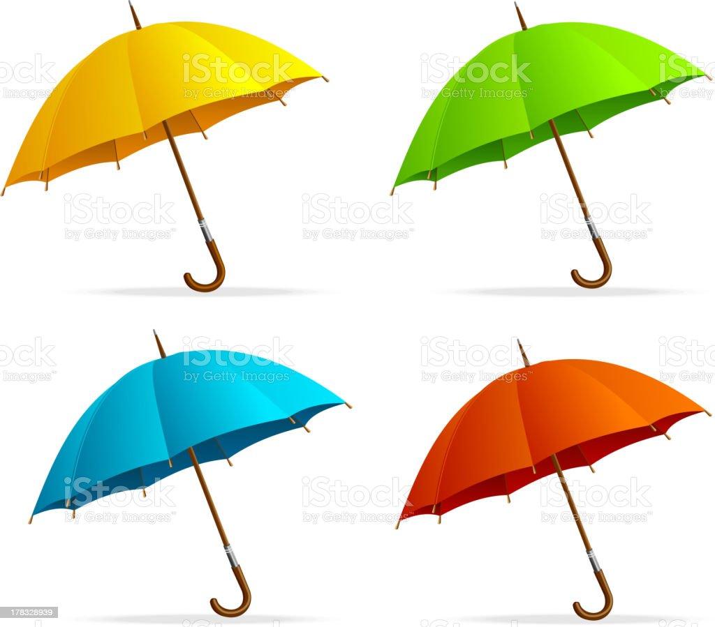 Umbrellas set royalty-free umbrellas set stock vector art & more images of autumn