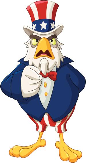 Uncle Sam eagle