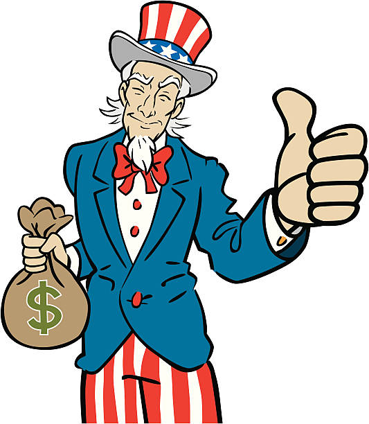 Royalty Free Uncle Sam Clip Art, Vector Images ...
