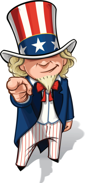 Uncle Sam 'I Want You'
