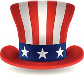 Uncle Sam Patriotic USA Hat