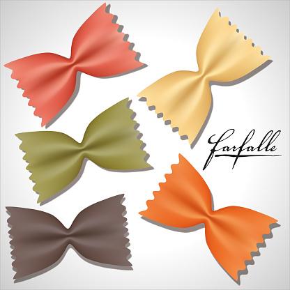 Uncooked Farfalle