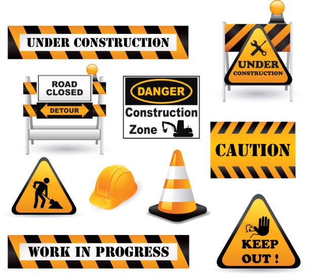 illustrations, cliparts, dessins animés et icônes de éléments de construction - chantier