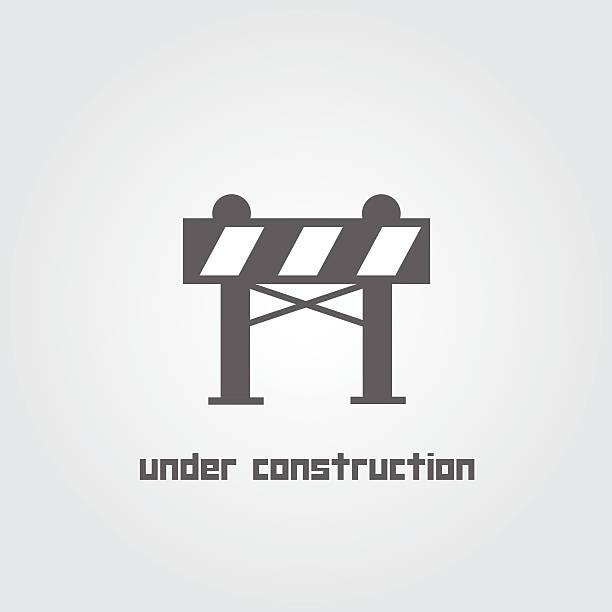 stockillustraties, clipart, cartoons en iconen met under construction symbol - arizona highway signs