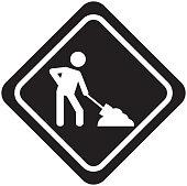under construction traffic signal icon