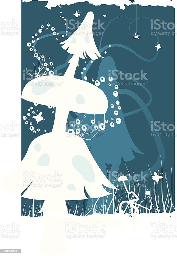 Undergrowth scene 2 royalty-free undergrowth scene 2 stock vector art & more images of backgrounds
