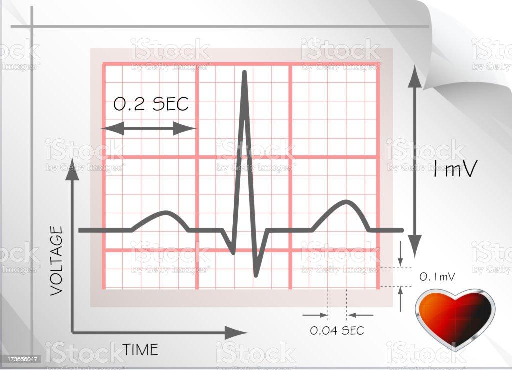 Understanding Heart ECG royalty-free understanding heart ecg stock vector art & more images of biological process