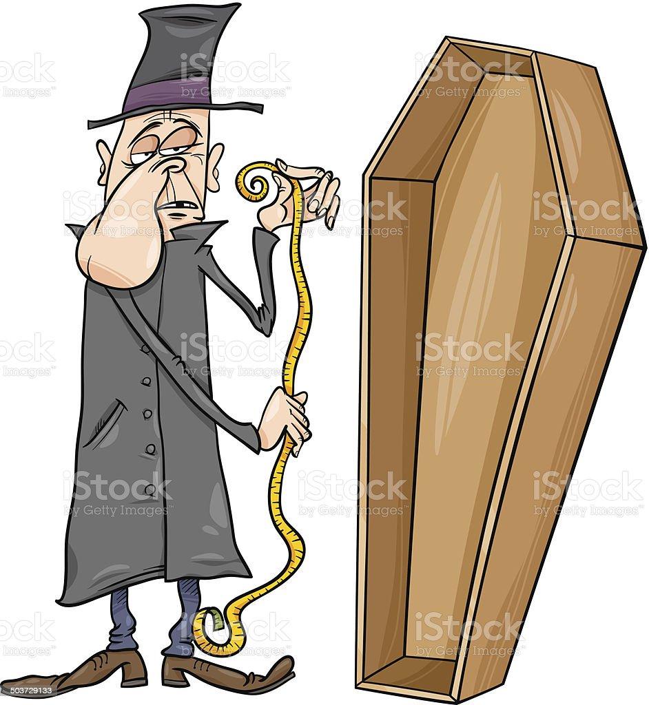 葬儀社の棺漫画イラスト - 1人のベクターアート素材や画像を多数ご用意