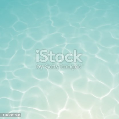 istock Underwater Background with Ripples and Reflections 1166881898