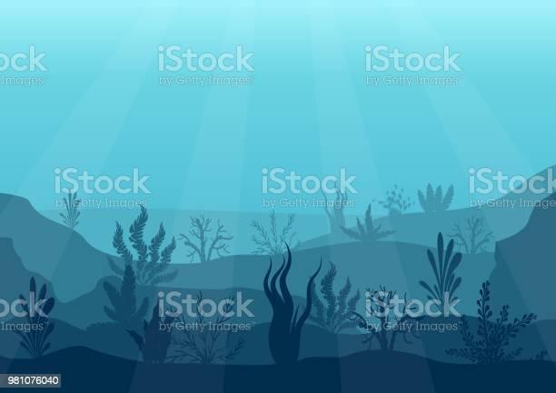 Underwater ocean scene deep blue water coral reef and underwater vector id981076040?b=1&k=6&m=981076040&s=612x612&h=wvgj7o4as5gi3mw0kmftkleqa34rz nfdlz  qubwky=