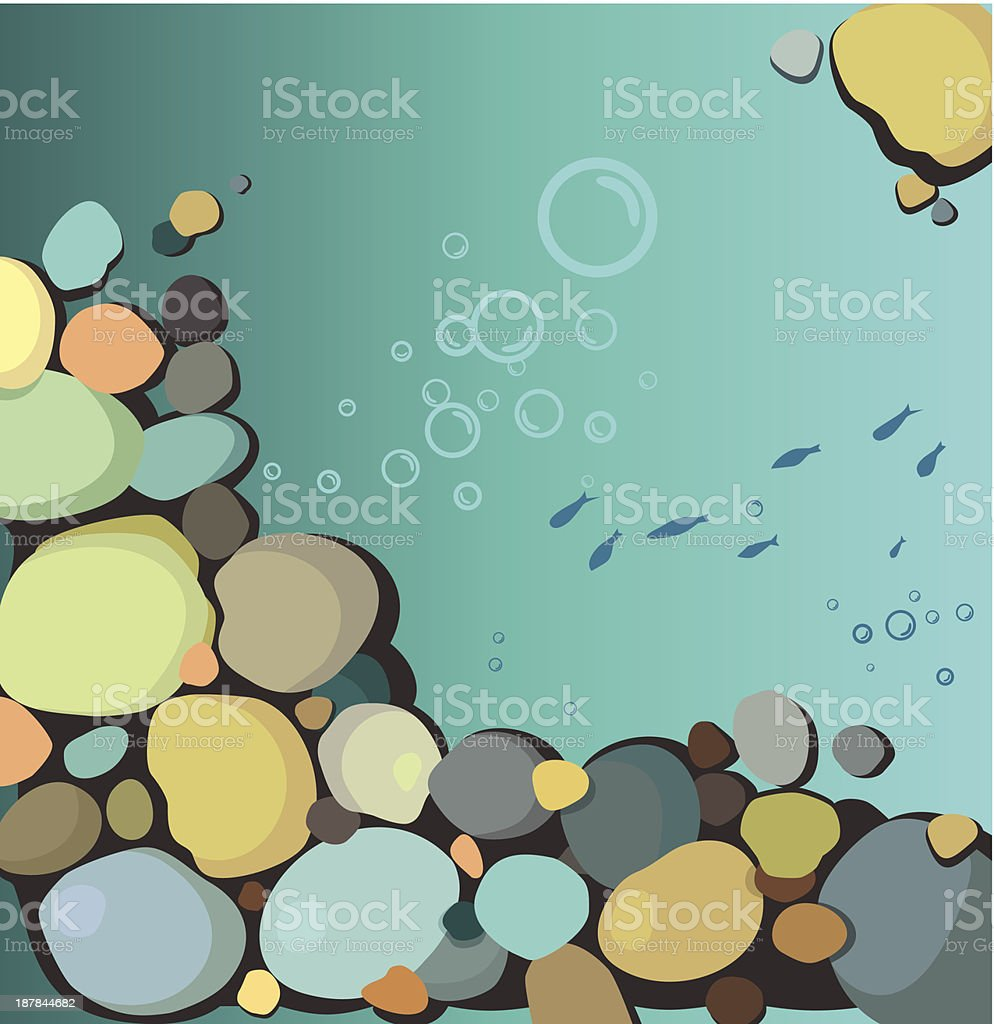 Underwater scene royalty-free underwater scene stock vector art & more images of abstract