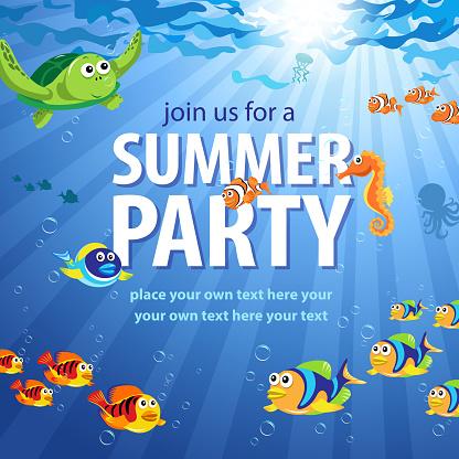 Underwater Summer Party