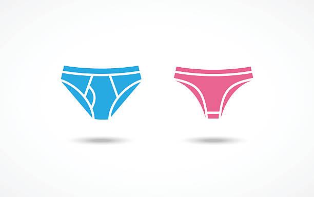7b202d37f Underwear icons vector art illustration · Female panties ...