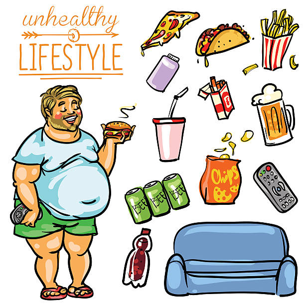 unhealthy lifestyle An unhealthy lifestyle can vary by degrees, and some may determine that being slightly unhealthy smoking may or may not be part of an unhealthy lifestyle, but it is never part of a healthy lifestyle.