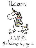 Unicorn always believes in you