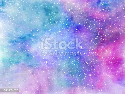 Unicorn background with rainbow mesh. Fantasy gradient backdrop with hologram. Vector illustration for poster, brochure, invitation, cover book, catalog.