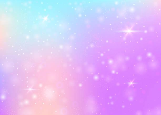 麒麟背景與彩虹網。 - 女性化 幅插畫檔、美工圖案、卡通及圖標