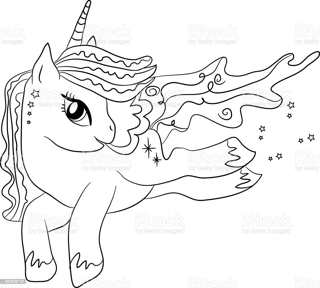Unic rniopara colorir p ginas para as crian as arte for Unicorn coloring pages for kids