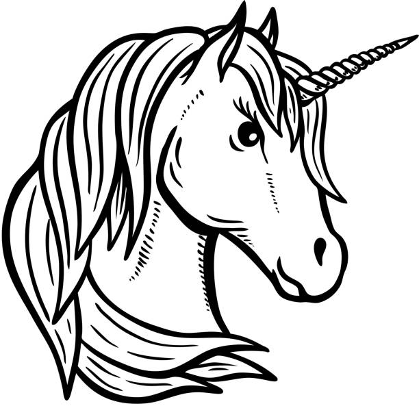 Best Unicorn Silhouette Illustrations, Royalty-Free Vector ...