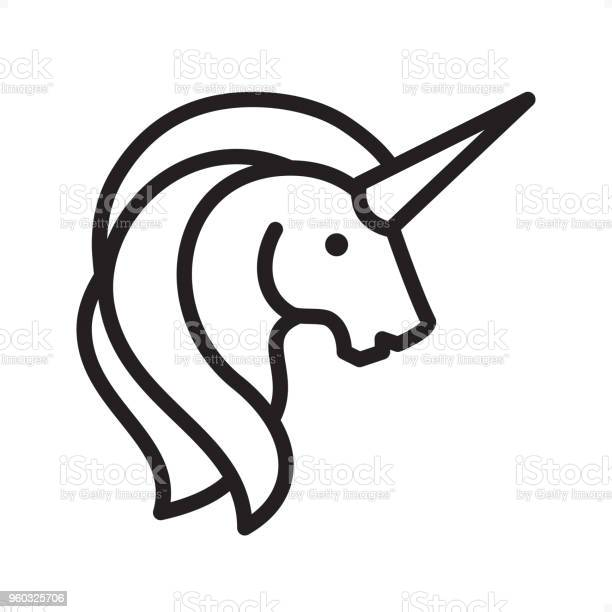Unicorn outline icon pixel perfect vector id960325706?b=1&k=6&m=960325706&s=612x612&h=l9yr71erh8z0qf1hqzibrtwqiifmvso82ngwyat718s=