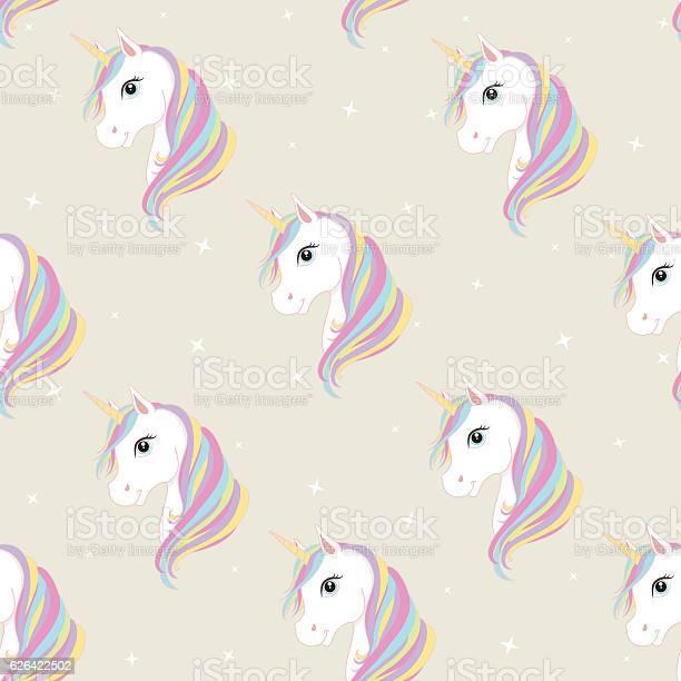 Unicorn seamless pattern cute magic fantasy vector wallpaper vector id626422502?b=1&k=6&m=626422502&s=612x612&h=hhe8xq9qauil0knvw6vdmyvmfpszckl7xadvxr rise=